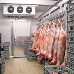 سردخانه زیر صفر - نگهداری گوشت
